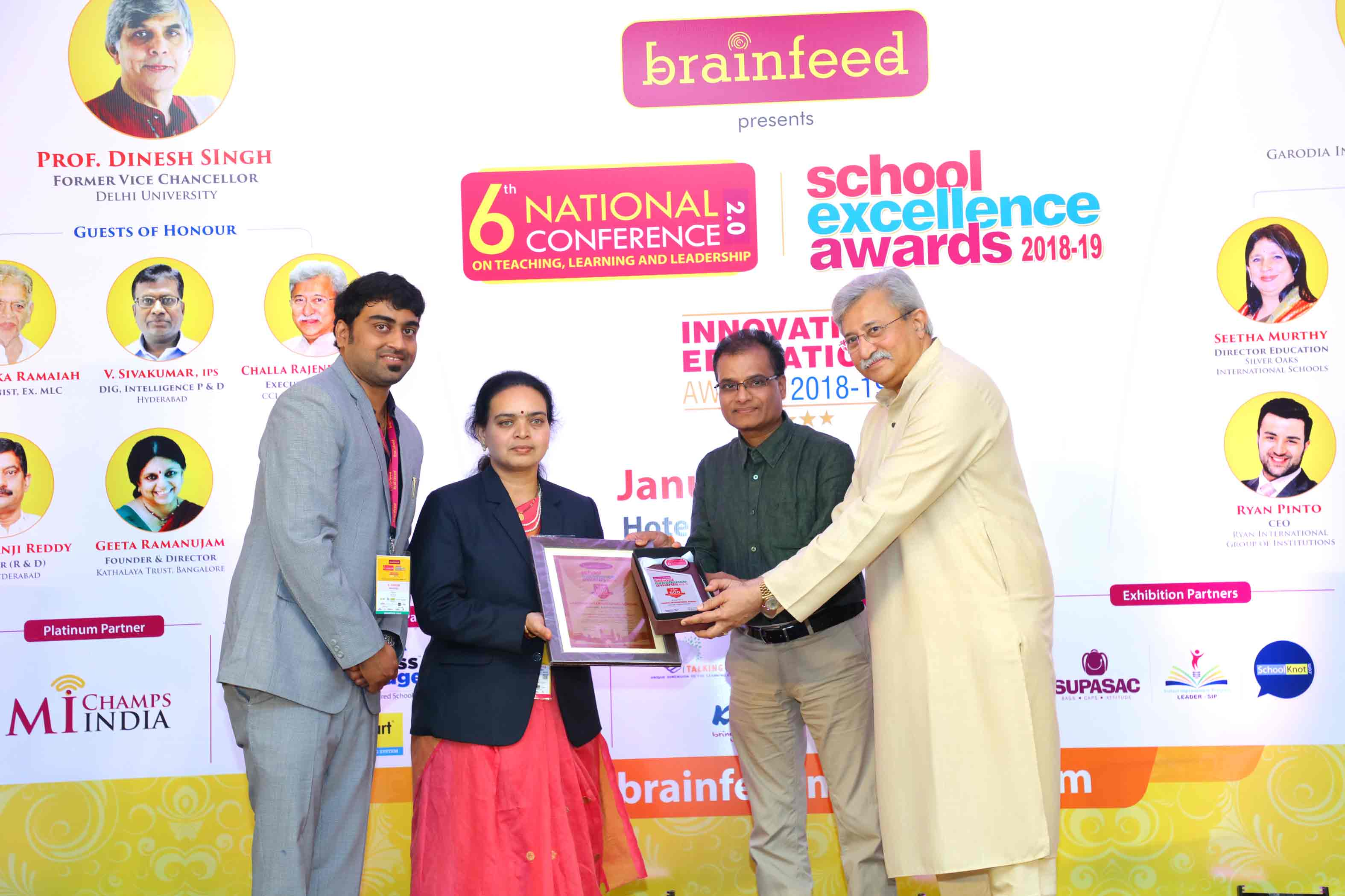 Brainfeed 6th national Conference Photographs hyderabad